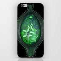 Eye Green iPhone & iPod Skin