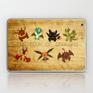 Laptop & iPad Skin featuring The Book Of Dragons by Le Bear Polar