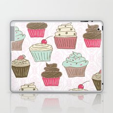Cupcakes Curly Laptop & iPad Skin