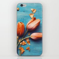 Orange Tulips iPhone & iPod Skin