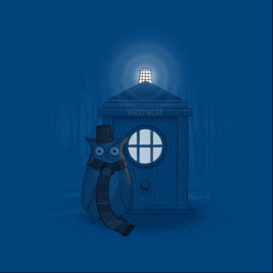 Dr Who Who? Art Print