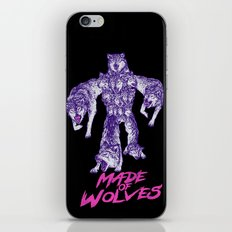 Made Of Wolves iPhone & iPod Skin