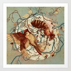 Honey & Sorrow Art Print