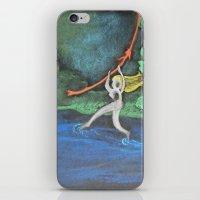 Walking on Water iPhone & iPod Skin
