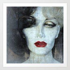 How Cruella Can U Be ?! Art Print