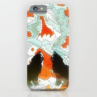 iPhone & iPod Case featuring Cats Collaboration by Amanda Trader