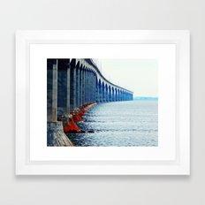 Confederation Bridge New-Brunswick Framed Art Print