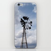 Left to the Elements...Abandoned Windmill iPhone & iPod Skin