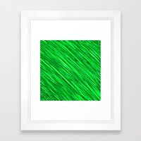 Emeralds Meshed  Framed Art Print