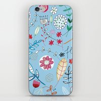 Flower_3 iPhone & iPod Skin
