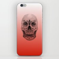 #34 - Christmas Tree Sugar Skull iPhone & iPod Skin