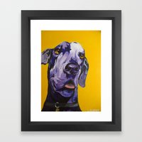 Nike Boy Framed Art Print