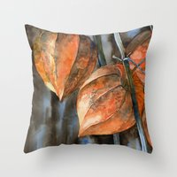 Phisalis Throw Pillow