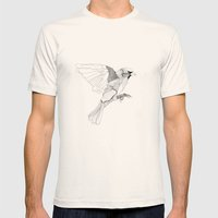 Birdie Mens Fitted Tee Natural SMALL