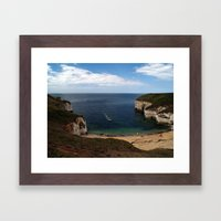 North Landing Framed Art Print