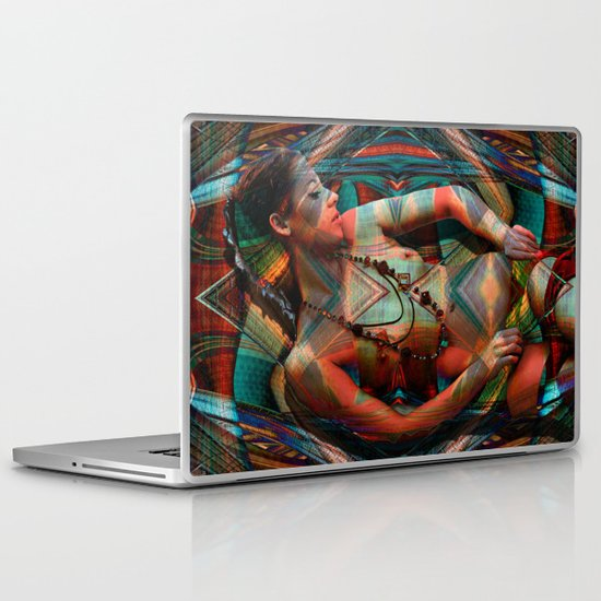 Familial Pattern Laptop & iPad Skin