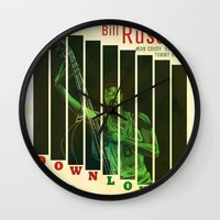 Down Low Wall Clock