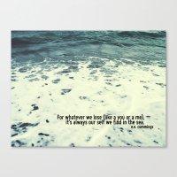 You Sea Me Canvas Print