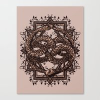 Life Is A NeverEnding Story Canvas Print