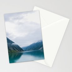 in the mountains Stationery Cards