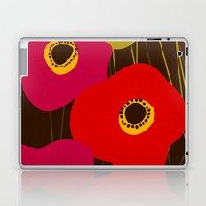 Red Poppy Flowers by Friztin Laptop & iPad Skin