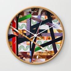 Ruben (stripes 19) Wall Clock