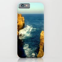 As the sunsets over the Limestone Cliffs iPhone 6 Slim Case