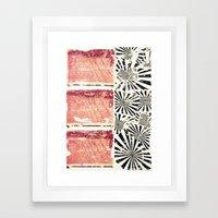 RETRO 4 Framed Art Print