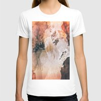 Dreamy Large Quartz Crys… Womens Fitted Tee White SMALL