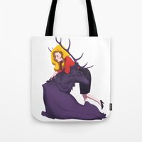 Bedelia And The Raven St… Tote Bag