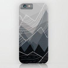 Grey Mountains  iPhone 6s Slim Case