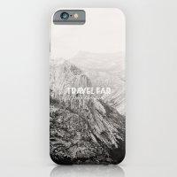 TRAVEL FAR to YOSEMITE (b&w)  iPhone 6 Slim Case