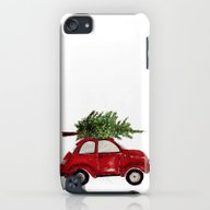 Red Christmas Beetle  iPod touch Slim Case