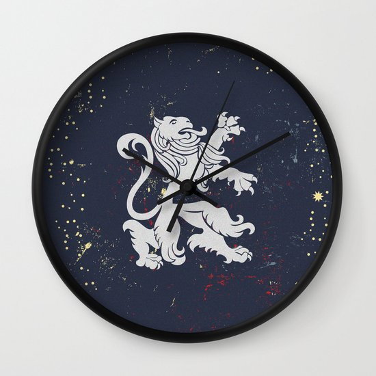 U Von King Wall Clock