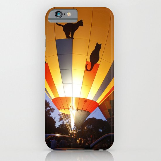 Kitty Hot-Air Balloon iPhone & iPod Case
