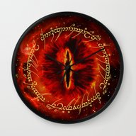 Sauron The Dark Lord Wall Clock