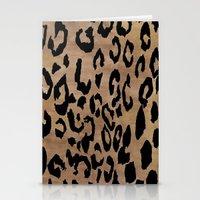 Leopard Print  Stationery Cards