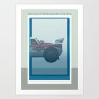 Lancia 037 Art Print