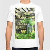 Nature Taking Over 2 Mens Fitted Tee White SMALL