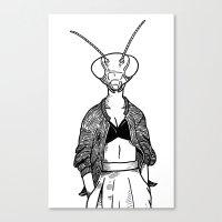 Mantis Canvas Print