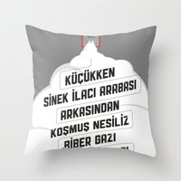 Sinek Aracı Throw Pillow