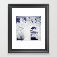 SPRING IN THE CITY Framed Art Print