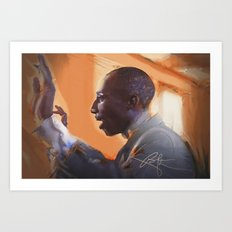 The musical director Art Print