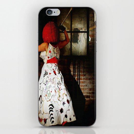 """Little Miss Redhead"" iPhone & iPod Skin"