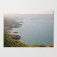 White Rock Bay Canvas Print