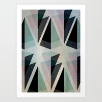 Solids Invasion Art Print