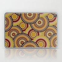 Multicolored Rowed Mandela Pattern Laptop & iPad Skin