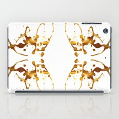 Symmetria Gold 1 iPad Case
