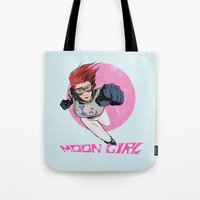 Moon Girl Punch-Out Tote Bag