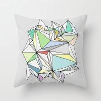 Simplicity 1 Throw Pillow